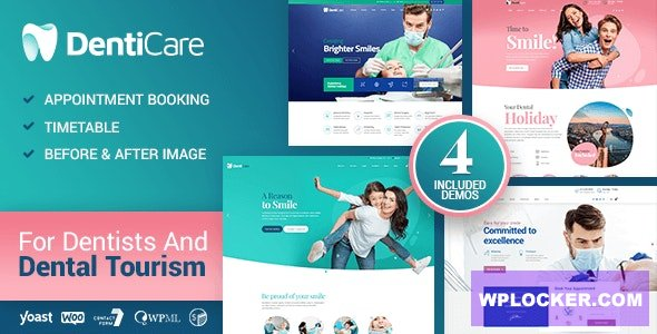 Download free DentiCare v1.0.2 – Medical, Dentist & Dental Clinic