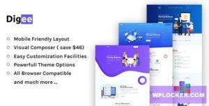 Download free Digee v1.0.7 – Digital Marketing Agency WordPress Theme