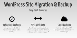 Download free Duplicator Pro v3.8.9.3 – WordPress Site Migration & BackUp