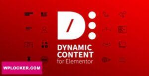 Download free Dynamic Content for Elementor v1.9.5.3