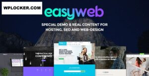 Download free EasyWeb v2.4.4 – WP Theme For Hosting, SEO and Web-design