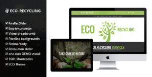 Download free Eco Recycling v2.2 – a Multipurpose Woocommerce Theme