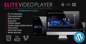 Download free Elite Video Player v6.1 – WordPress plugin