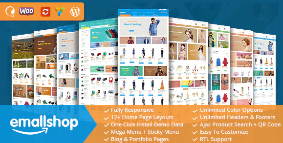 Download free EmallShop v2.2.14 – Responsive Multipurpose WooCommerce Theme