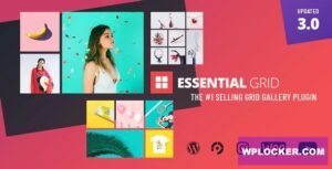 Download free Essential Grid WordPress Plugin v3.0.3