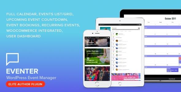 Download free Eventer v3.0 – WordPress Event Manager Plugin