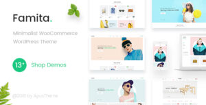 Download free Famita v1.27 – Minimalist WooCommerce WordPress Theme