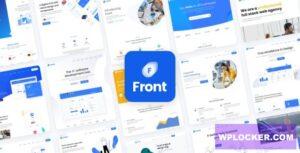 Download free Front v1.0.21 – Multipurpose Business WordPress Theme
