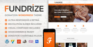 Download free Fundrize v1.12 – Responsive Donation & Charity Theme