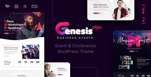 Download free GenesisExpo v1.2.10 – Business Events & Conference Theme