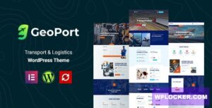 Download free Geoport v1.0.1 – Transport & Logistics WordPress Theme