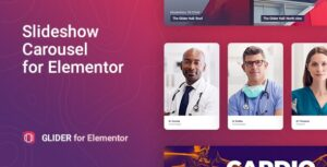 Download free Glider v1.0.2 – Slideshow & Slider for Elementor