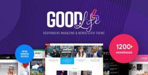 Download free GoodLife v4.2.2.2 – Responsive Magazine Theme