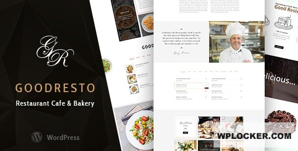 Download free GoodResto v2.5 – Restaurant WordPress Theme + Woocommerce