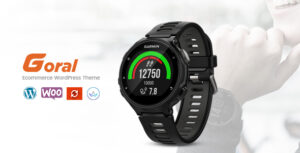 Download free Goral SmartWatch v1.17 – Single Product Theme