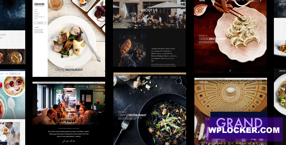 Download free Grand Restaurant v5.6 – Restaurant Cafe Theme