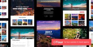 Download free Grand Tour v4.7.1 – Tour Travel WordPress Theme