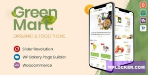 Download free GreenMart v2.4.3 – Organic & Food WooCommerce WordPress Theme