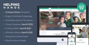 Download free HelpingHands v2.7.5 – Charity/Fundraising WordPress Theme