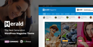 Download free Herald v2.3 – News Portal & Magazine WordPress Theme