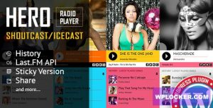 Download free Hero v3.4 – Shoutcast and Icecast Radio Player