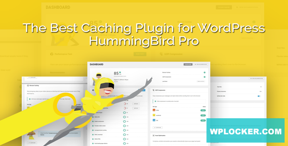 Download free Hummingbird Pro v2.5.1 – WordPress Plugin