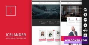 Download free Icelander v1.5.4 – Accessible Business Portfolio & WooCommerce WordPress Theme