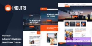 Download free Indutri v1.0.1 – Factory & Industrial WordPress Theme