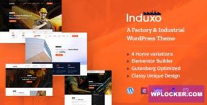 Download free Induxo v1.5 – Industry WordPress Theme