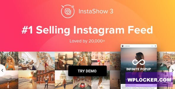 Download free Instagram Feed v3.8.7 – WordPress Instagram Gallery