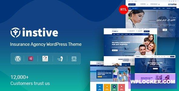 Download free Instive v1.0.8 – Insurance WordPress Theme