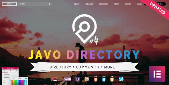 Download free Javo Directory v4.1.7 – WordPress Theme