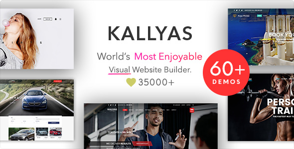 Download free KALLYAS v4.18.0 – Responsive Multi-Purpose Theme