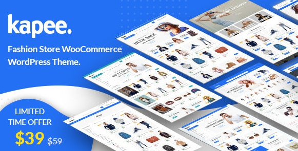 Download free Kapee – Fashion Store WooCommerce Theme v1.3.2