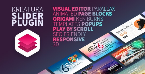 Download free Kreatura v6.11.2 – Slider Plugin for WordPress