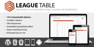Download free League Table v2.08