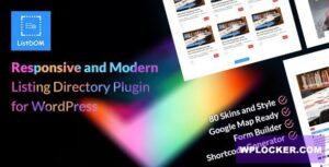 Download free Listdom v1.6.1 – Advanced Directory and Listing Plugin