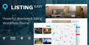 Download free ListingEasy v1.6.2 – Directory WordPress Theme