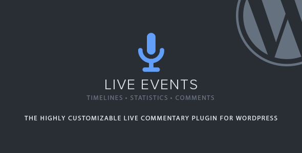 Download free Live Events v1.2.5 – Premium Plugin
