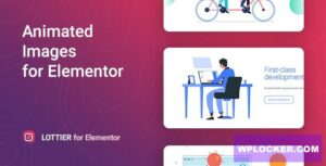 Download free Lottier v1.0.1 – Lottie Animated Images for Elementor