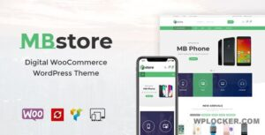 Download free MBStore v1.7 – Digital WooCommerce WordPress Theme