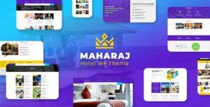 Download free Maharaj Tour v2.1 – Hotel, Tour, Holiday Theme