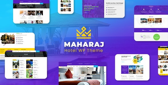 Download free Maharaj Tour v2.1 – Hotel, Tour, Holiday Theme