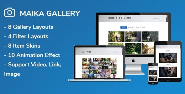 Download free Maika v1.16 – Gallery Plugin for WordPress
