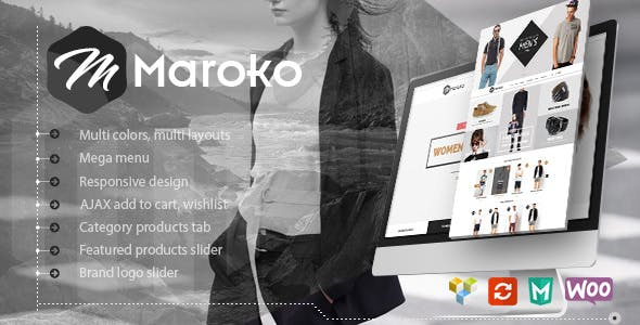 Download free Maroko v1.3.6 – Responsive WordPress Fashion Theme