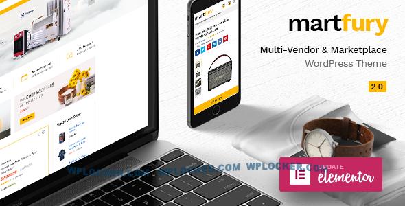 Download free Martfury v2.4.5 – WooCommerce Marketplace Theme