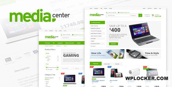 Download free MediaCenter v2.7.15 – Electronics Store WooCommerce Theme