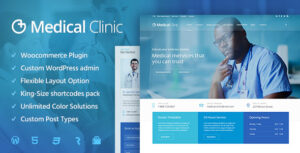 Download free Medical Clinic v1.1.9 – Health & Doctor Medical Theme