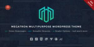 Download free Megatron v3.2 – Responsive MultiPurpose WordPress Theme