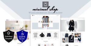 Download free Minimal Shop v2.0 – WooCommerce Theme